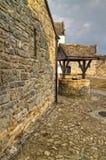 Patio del castillo de Parkes Imágenes de archivo libres de regalías