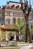 patio del Chino-estilo Fotos de archivo libres de regalías