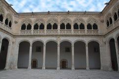 patio del Colegio de圣・格雷戈里奥 库存照片