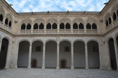 Patio del Colegio de San Gregorio Stock Photos