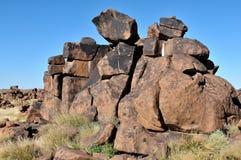 Patio del gigante, Namibia Fotos de archivo