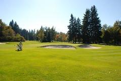 Patio del golf Foto de archivo libre de regalías