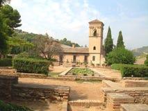 Patio del Moorish della Spagna Alahambra Fotografia Stock