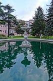 Patio del museo del palacio de Topkapi Imagen de archivo libre de regalías