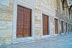 Patio del museo del palacio de Topkapi Imagen de archivo