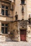 Patio del museo Musee de Cluny de Cluny París, Francia Imágenes de archivo libres de regalías