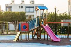 Patio del ` s de los niños al aire libre Foto de archivo libre de regalías