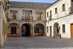 Patio in der alten Stadt, Sevilla Lizenzfreie Stockbilder