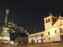 Patio do Colegio stock afbeelding