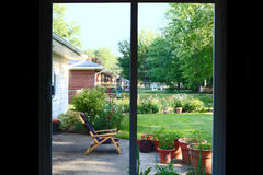 Patio Doors Royalty Free Stock Photos