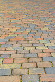 Patio driveway stones Stock Photography