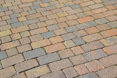 Patio driveway stones Stock Images