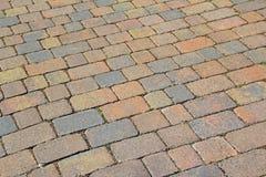 Patio driveway stones Stock Images