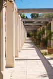 Patio in einem ländlichen Gebäude Lizenzfreies Stockfoto