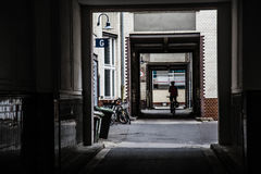 Patio en Berlín Fotografía de archivo