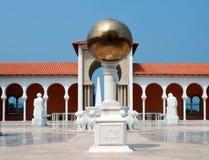 Patio en el museo de Ralli. Caesarea, Israel Fotografía de archivo libre de regalías