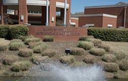 Patio en el santo Benedicto en la High School secundaria Memphis, Tennessee de Auburndale Fotos de archivo