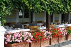 Patio en Italie Image stock