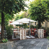 Patio en Italie Image stock