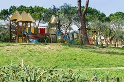 Patio - Loano Liguria Fotos de archivo libres de regalías