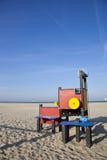 Patio en la playa Fotos de archivo