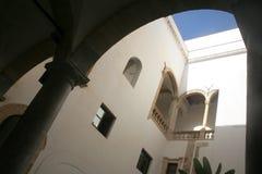 Patio en Sicile Photos stock