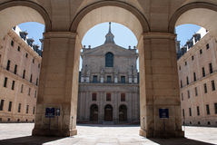 Patio in Escorial Stock Photos