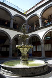Patio español Foto de archivo libre de regalías