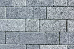 Patio Floor Or Pavement Made From Concrete Brick Bloks Backgroun Royalty Free Stock Photo