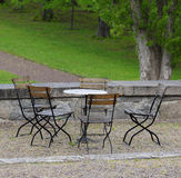 Patio Furniture Stock Image