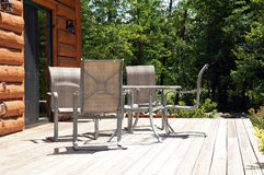 Patio furniture Stock Photography