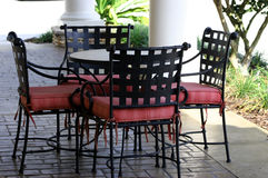 Patio Furniture stock images
