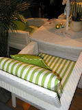 Patio furniture Royalty Free Stock Images