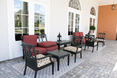 Patio furniture Royalty Free Stock Photos