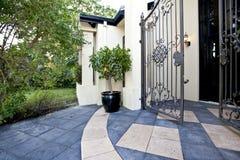 Patio and garden Royalty Free Stock Photo