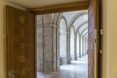 Patio Herreriano Valladolid España Royalty Free Stock Images