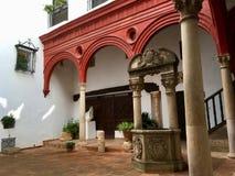 Patio historique photos stock
