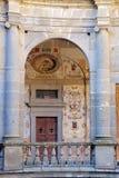 Patio interno de FarneseThe del chalet de la forma circular Foto de archivo libre de regalías
