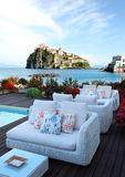 Patio on Ischia Island Stock Images