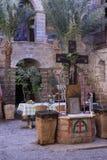 Patio lew w monasterze Fotografia Stock