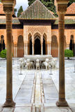 Patio of the Lions Royalty Free Stock Photos