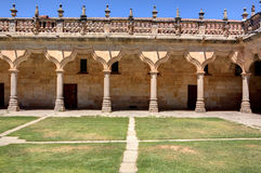 Patio of the Minor Schools in Salamanca Royalty Free Stock Images