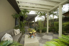 Patio In Modern House Royalty Free Stock Images