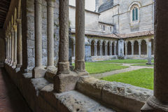 Patio of Monastery in saint-Emilion Royalty Free Stock Image