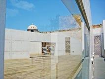 Patio at museum Es Baluard Museu d'Art Modern i Contemporani de Palma Royalty Free Stock Photos