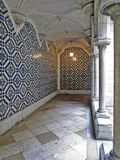Patio of the National Azulejo Museum. Royalty Free Stock Photos