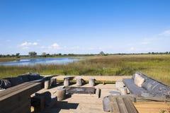 Free Patio Of A Luxury Safari Lodge In Botswana Stock Photo - 27093880
