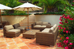 Free Patio Of A Villa Royalty Free Stock Photography - 4574287