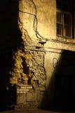 Patio oscuro Fotografía de archivo libre de regalías