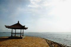 Patio par la plage Photographie stock libre de droits